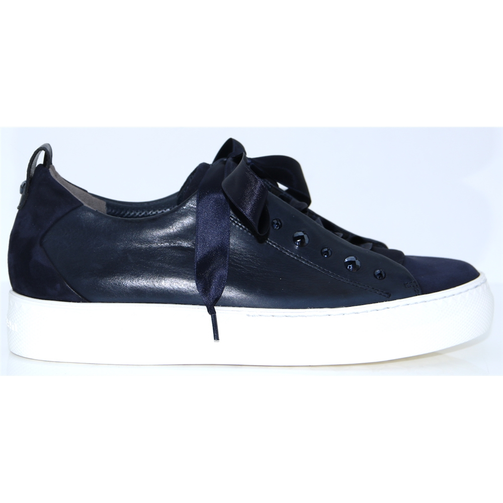 4645 - PAUL GREEN NAVY OCEAN TRAINERS