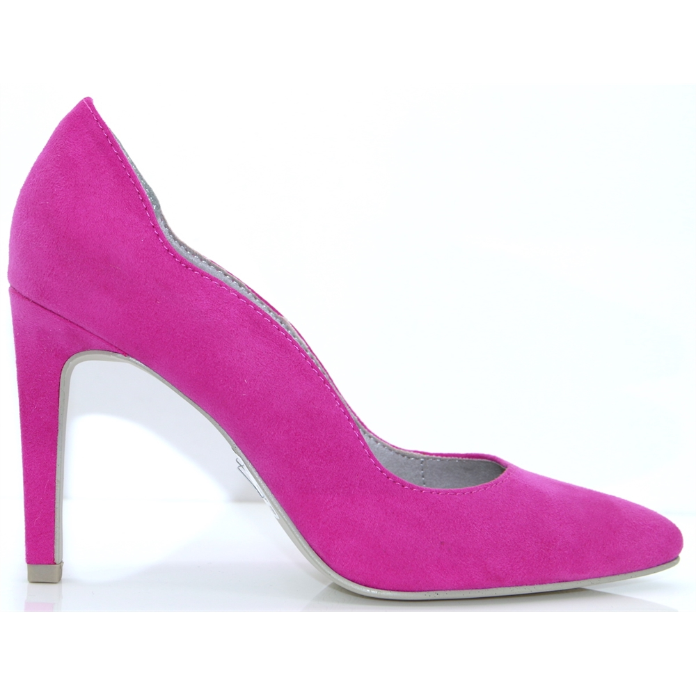 22422-22 - MARCO TOZZI FUCHSIA COURT SHOES