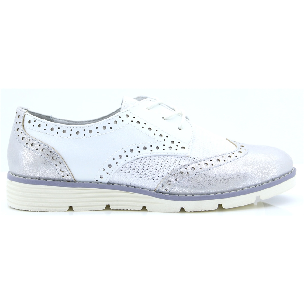23623-22 - S.OLIVER WHITE BROGUES