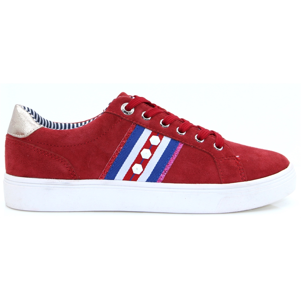 23602-22 - S.OLIVER RED TRAINERS