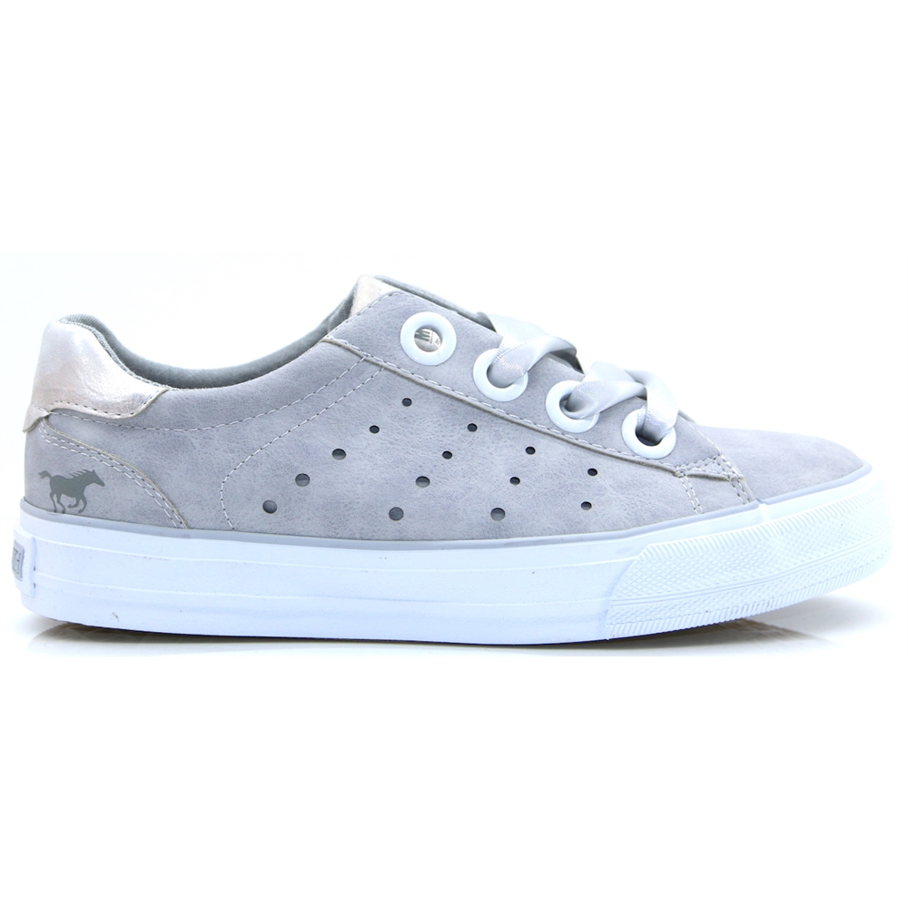 1272302 - MUSTANG GREY TRAINERS