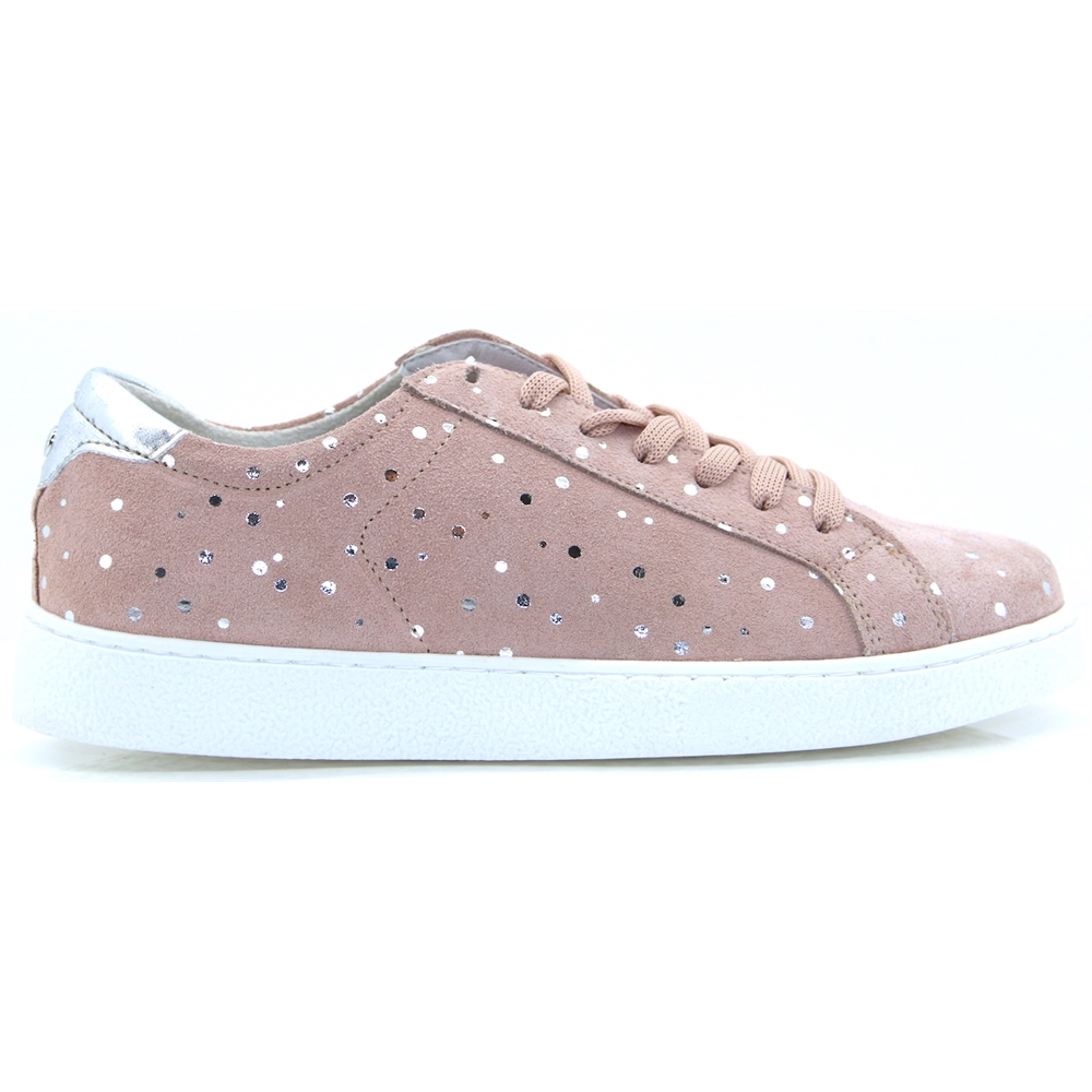 23631-22 - TAMARIS ROSE SUEDE DOT TRAINERS