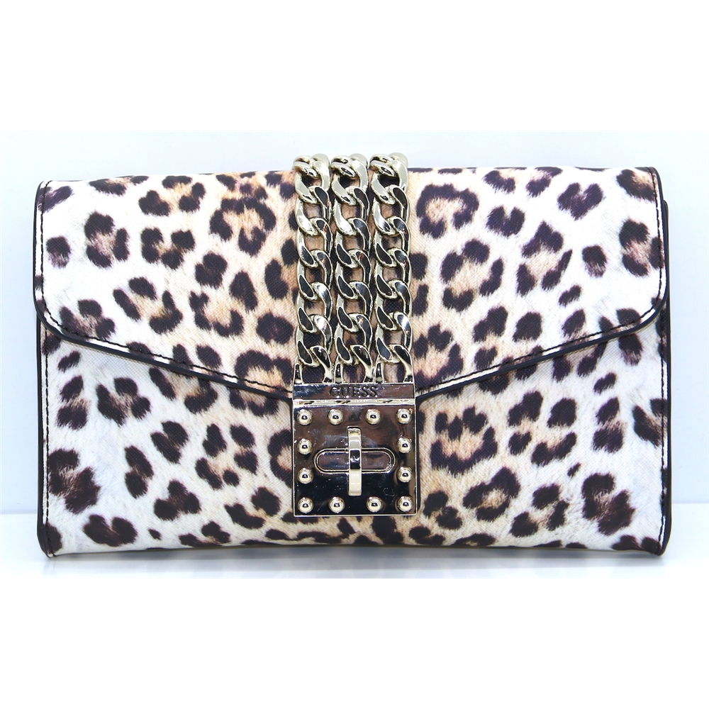 LG729971 - GUESS LEOPARD OCCASION BAG
