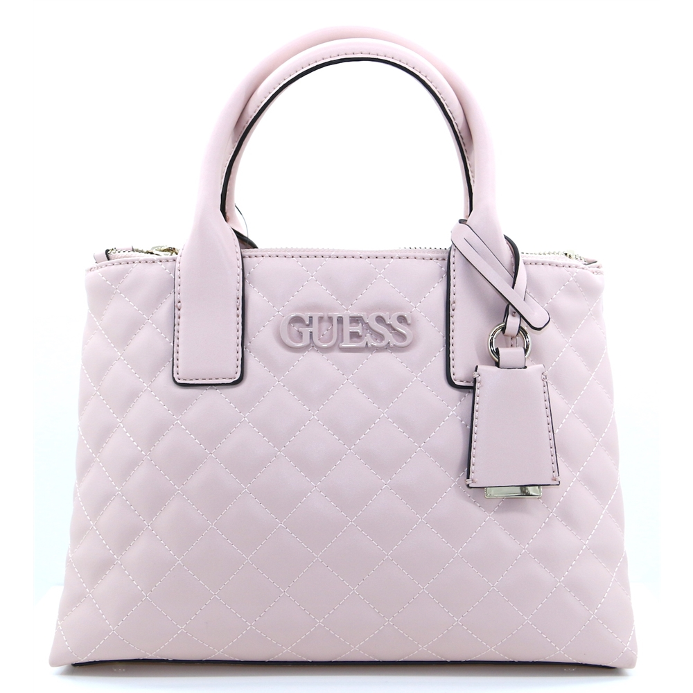 VG730206 - GUESS BLUSH QUILTED HANDBAG