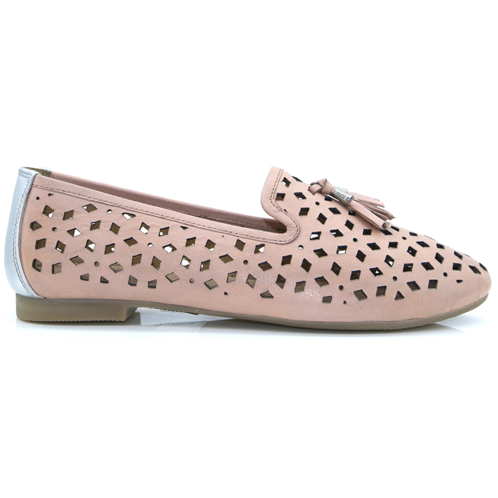 ALMA - LUNAR PINK LOAFERS