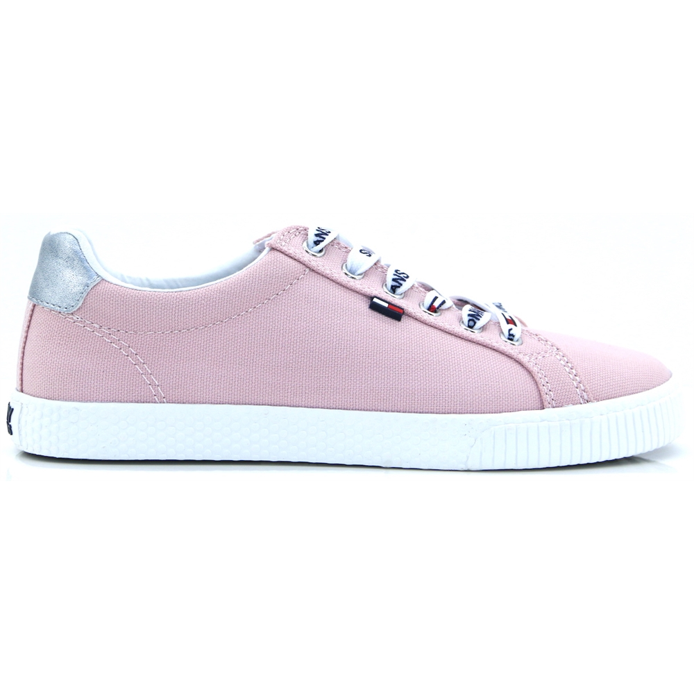 Tom.Jeans Casual Sneaker - Tommy Hilfiger LOTUS PINK TRAINERS