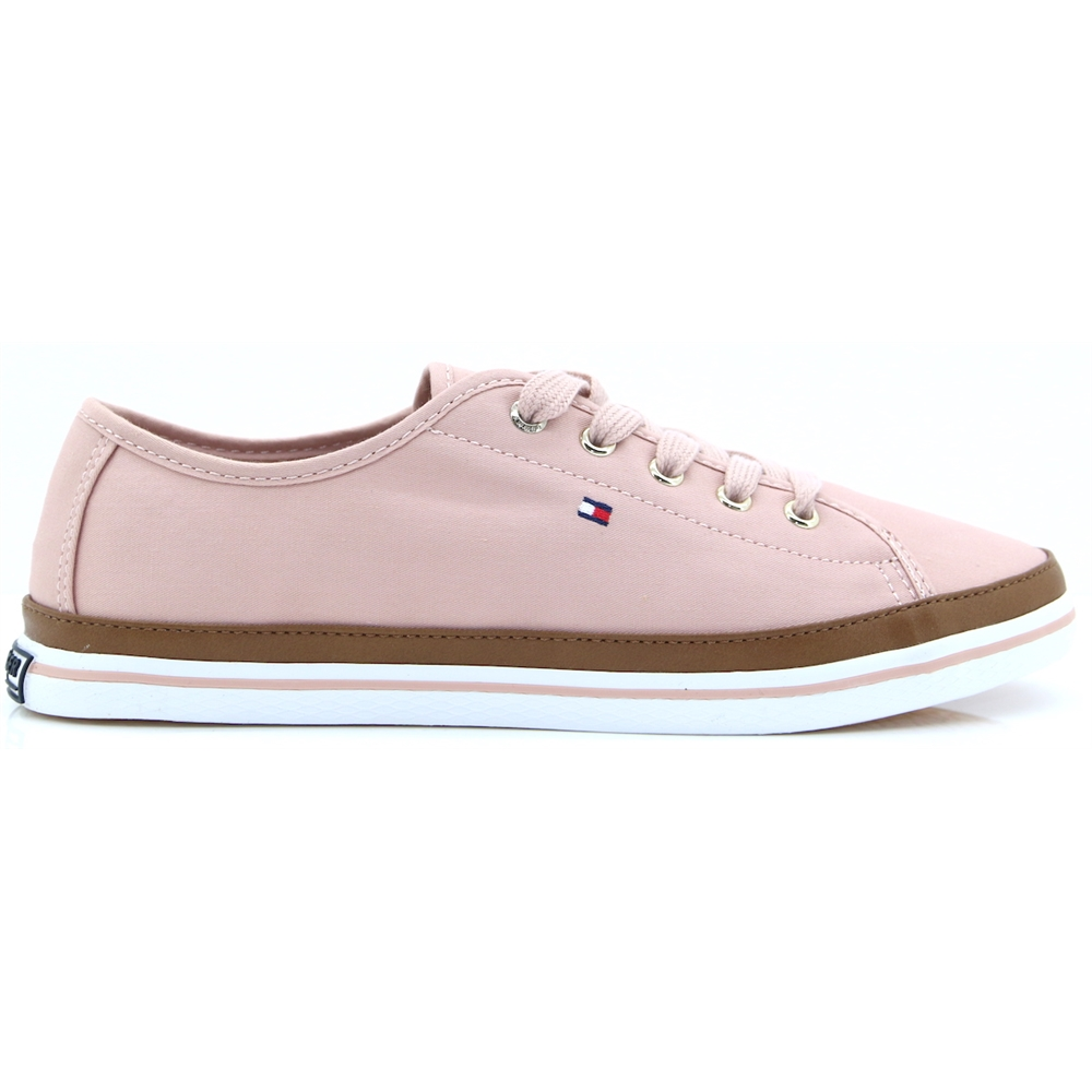 Iconic Kesha Sneaker - TOMMY HILFIEGR DUSTY ROSE TRAINERS