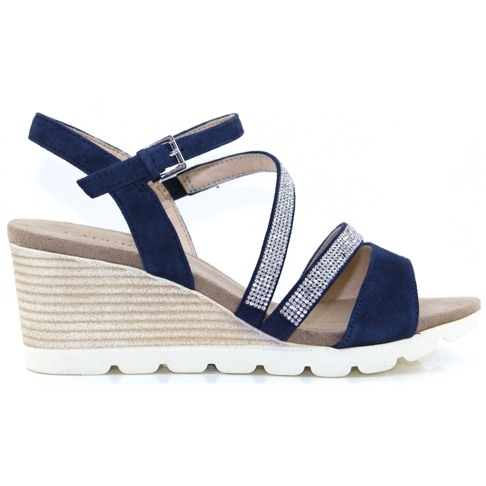 28309-22 - CAPRICE NAVY WEDGES