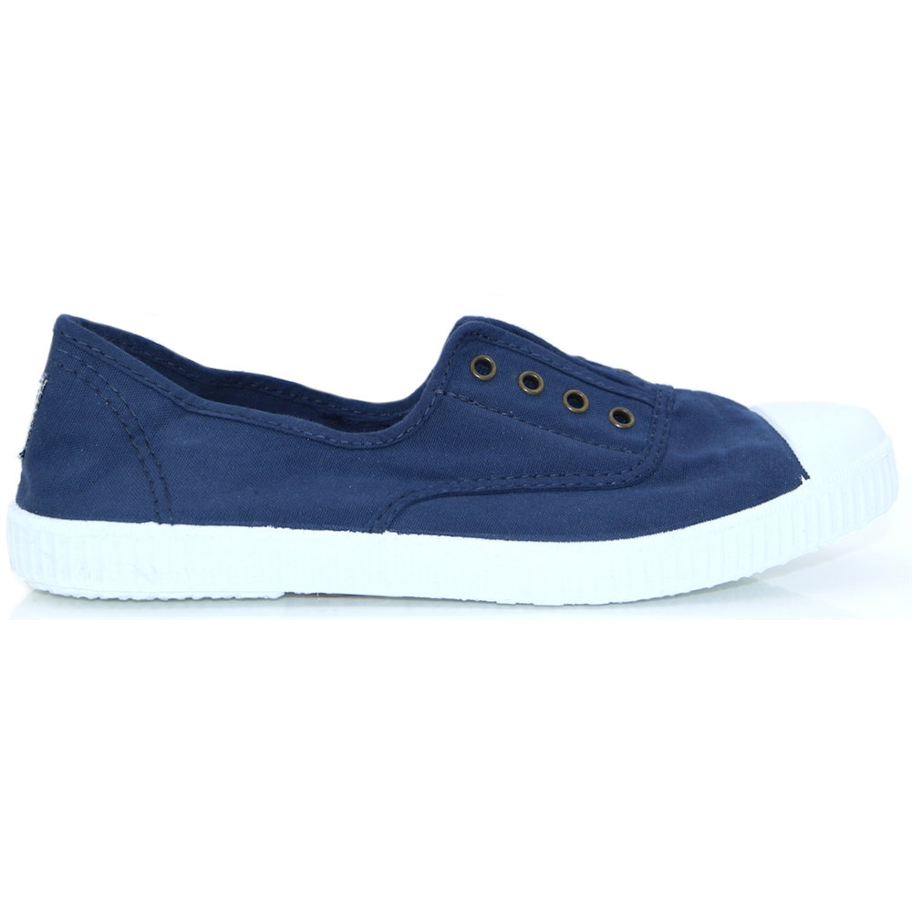 106623 - VICTORIA NAVY SLIP ON TRAINERS