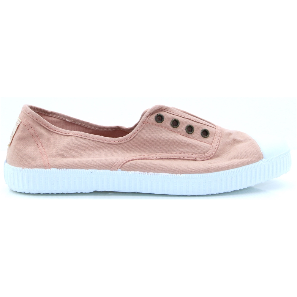 106623 - VICTORIA PINK SLIP ON TRAINERS