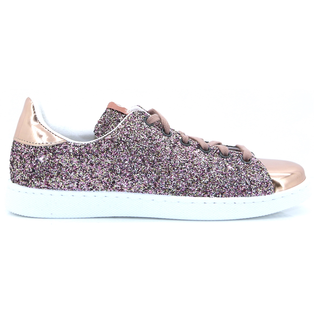 112558 - VICTORIA PINK GLITTER TRAINERS