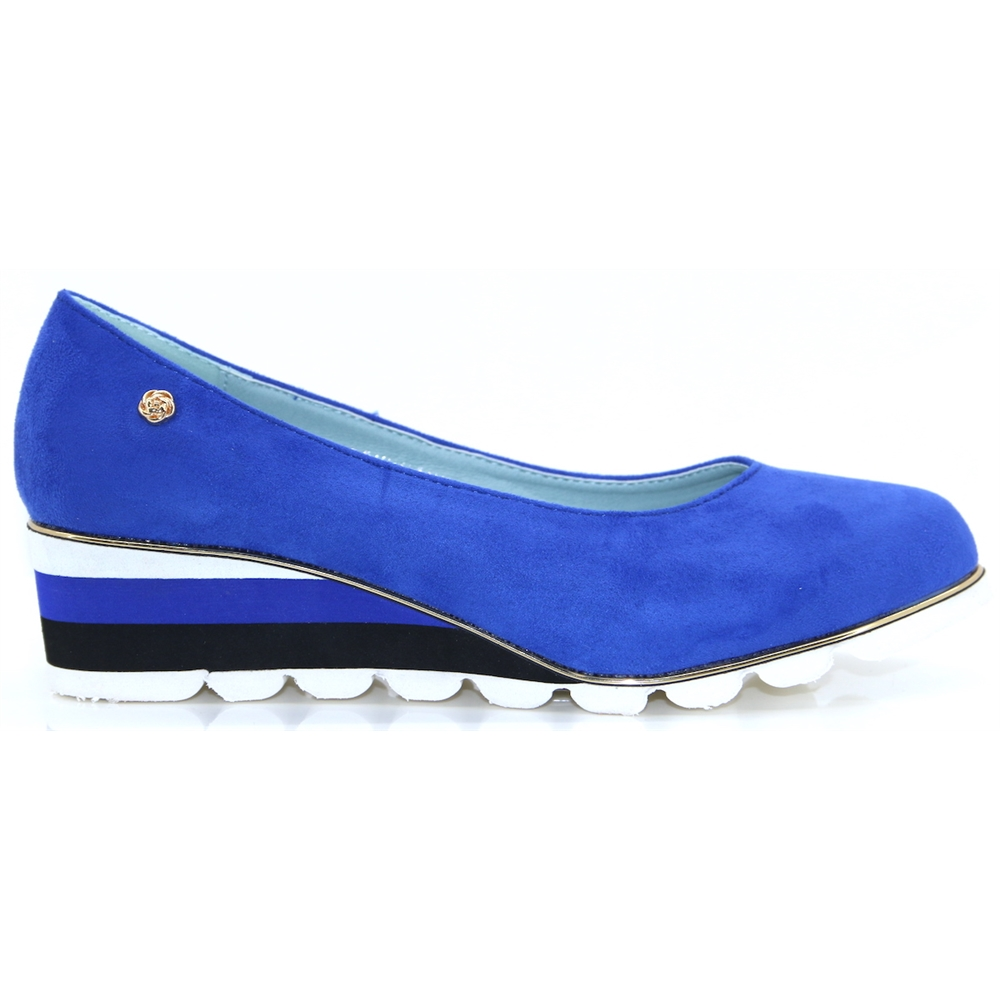 Ketchum - ZANNI & CO BLUE MIX WEDGES
