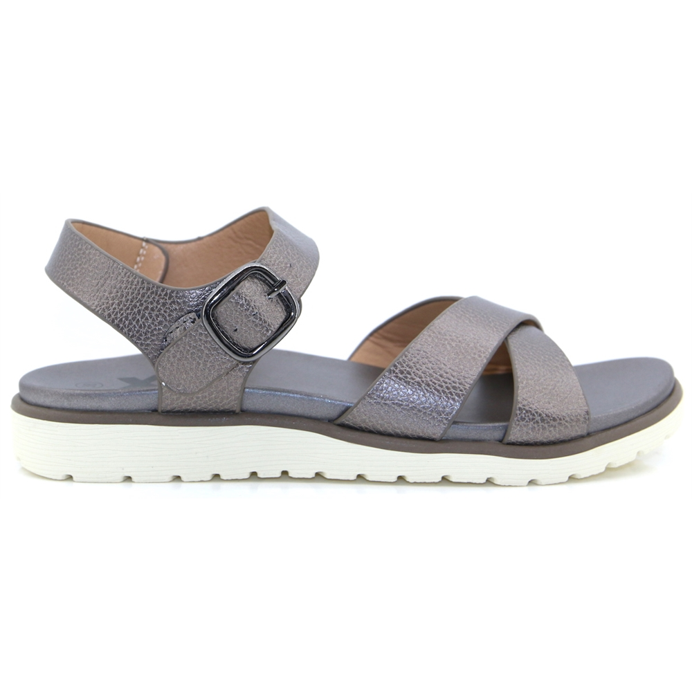 48874 - XTI PEWTER SANDALS