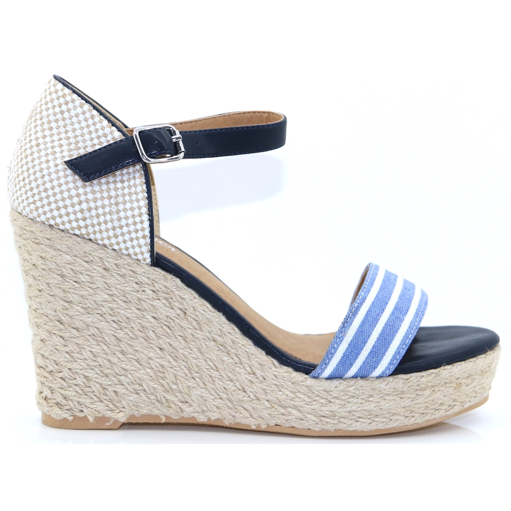 28315-22 - S.OLIVER NAVY COMB WEDGES