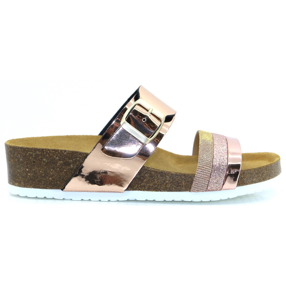 Hayley - ADESSO ROSE GOLD SANDALS