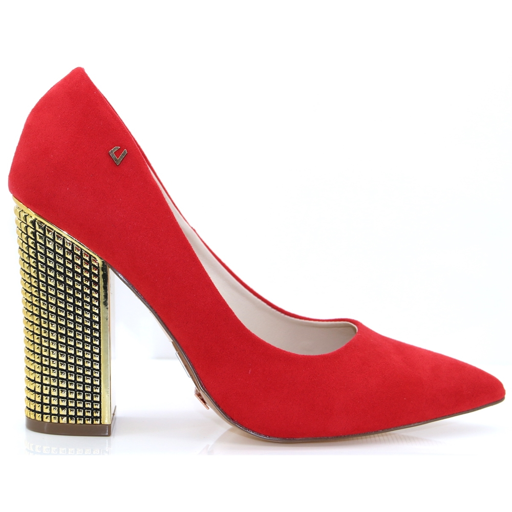 Hold On - UNA HEALY RED COURT SHOES