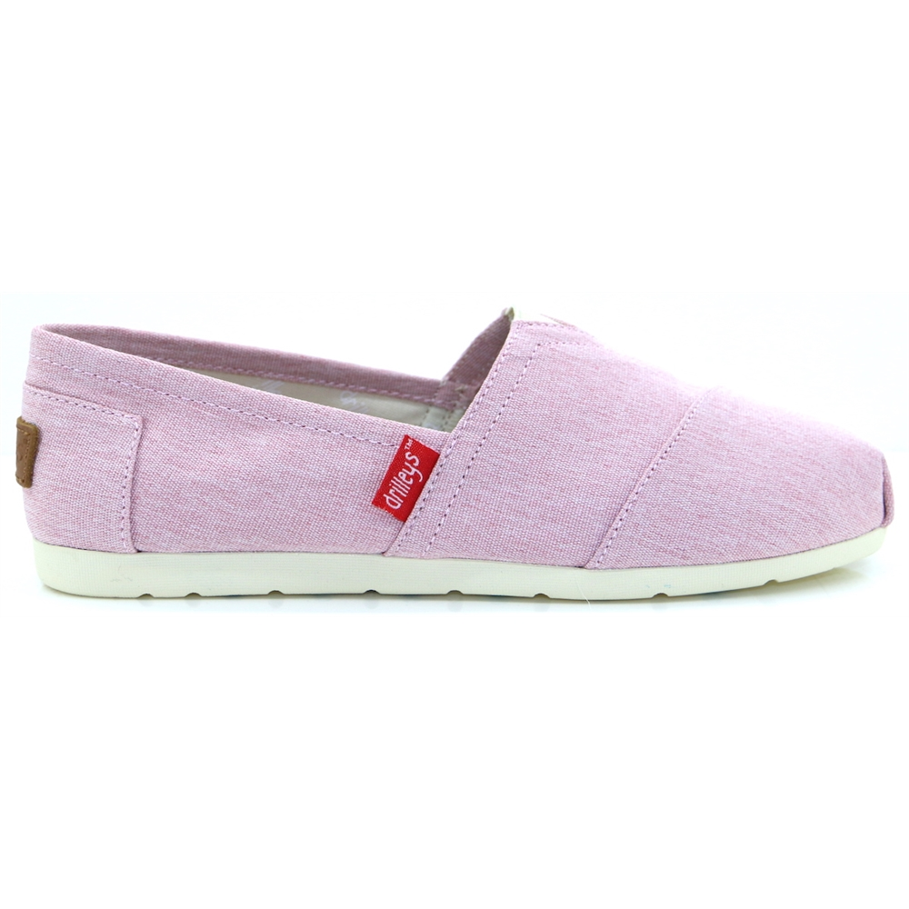 Drilleys Wash - DRILLEYS PINK SLIP ON SHOES