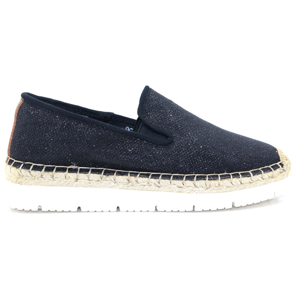 Drilleys USA - DRILLEYS BLACK ESPADRILLES