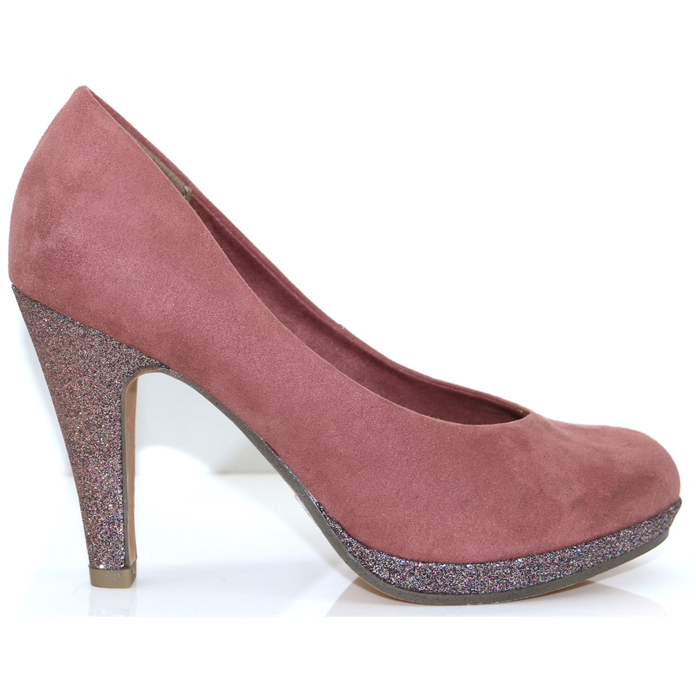 22441-33 - MARCO TOZZI OLD ROSE COURT SHOES