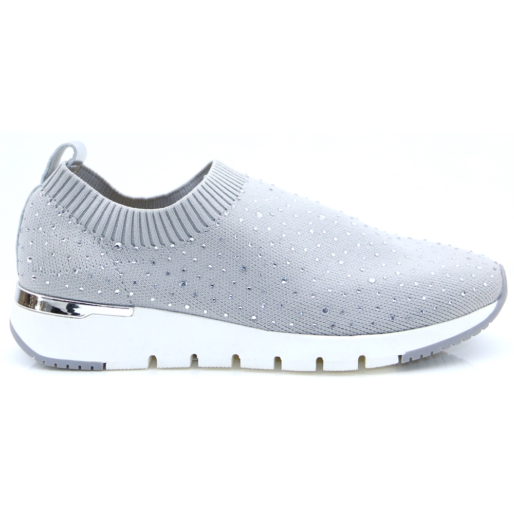 24702-24 - Caprice Grey Slip On Shoes