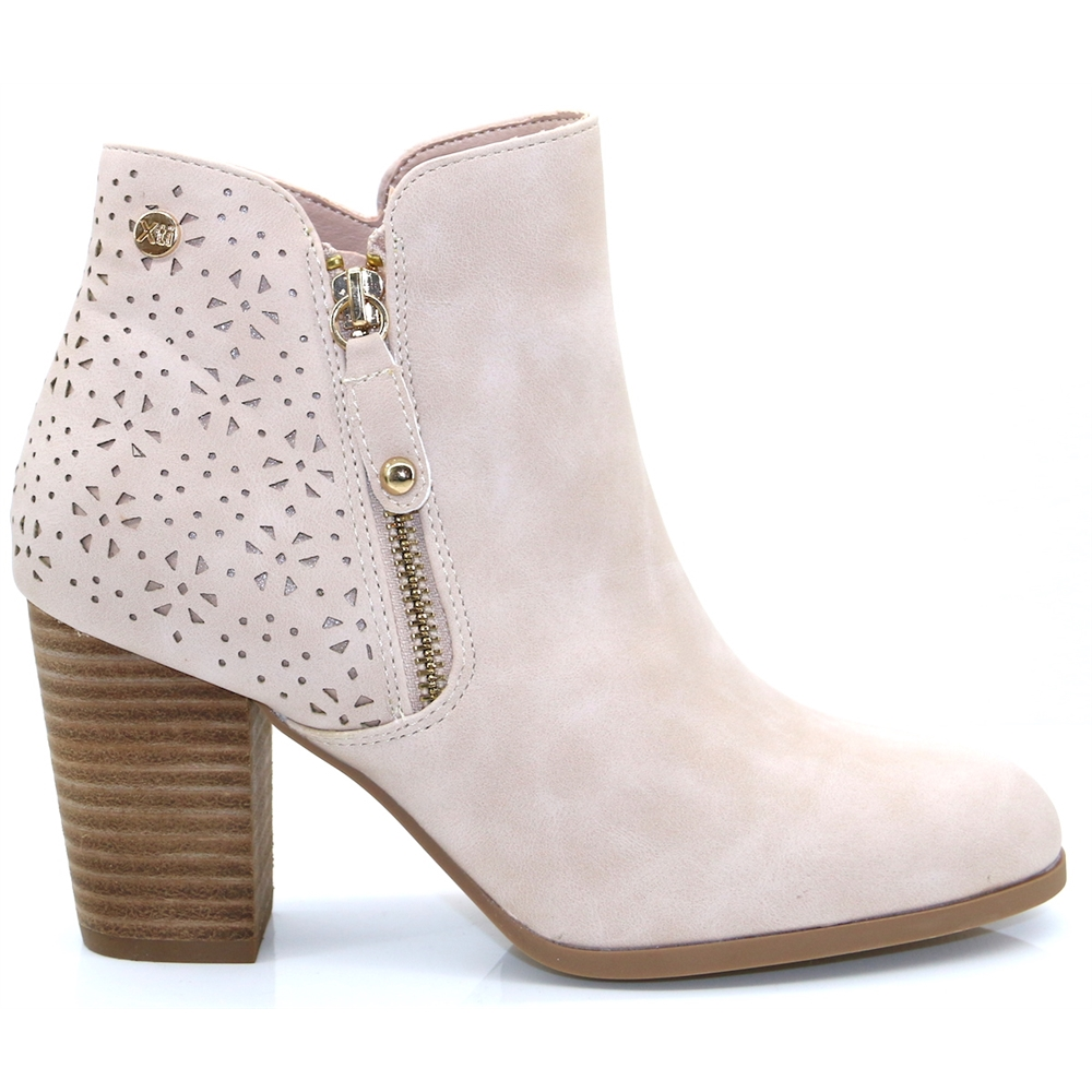 49702 - Xti Nude Ankle Boots