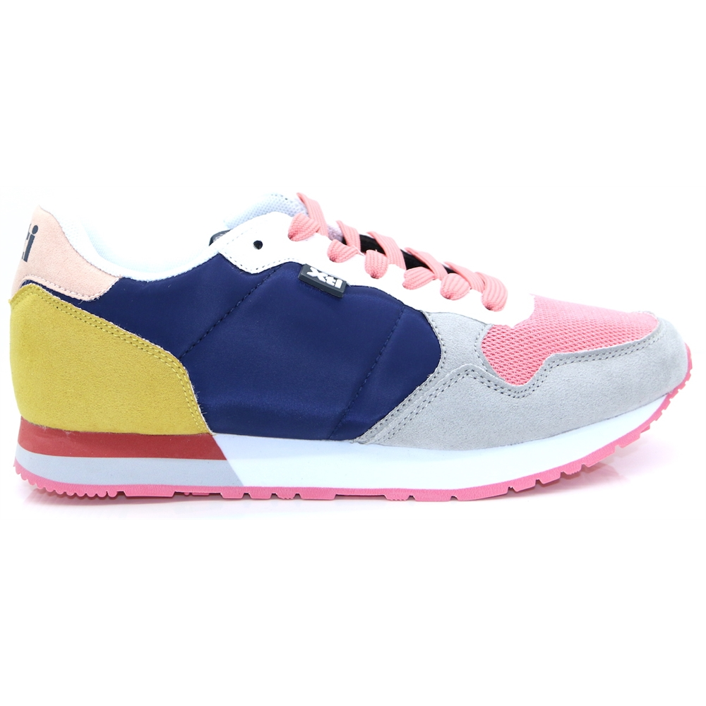 49820 - Xti Navy and Pink Trainers