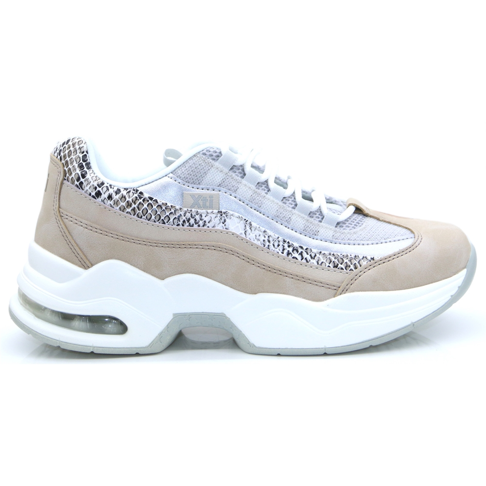 49985 - Xti Beige Chunky Trainers