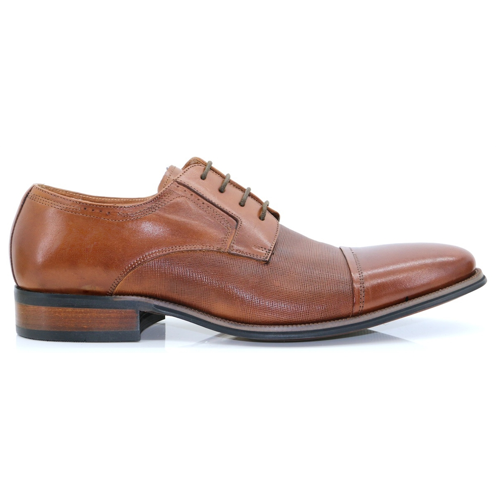 Rambury - PAOLO VANDINI TAN OXFORDS