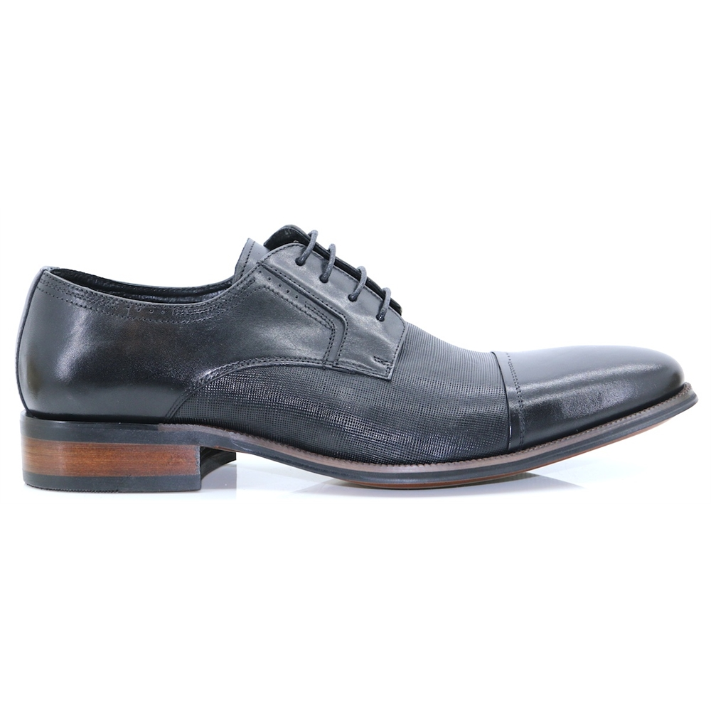 Rambury - PAOLO VANDINI BLACK OXFORDS
