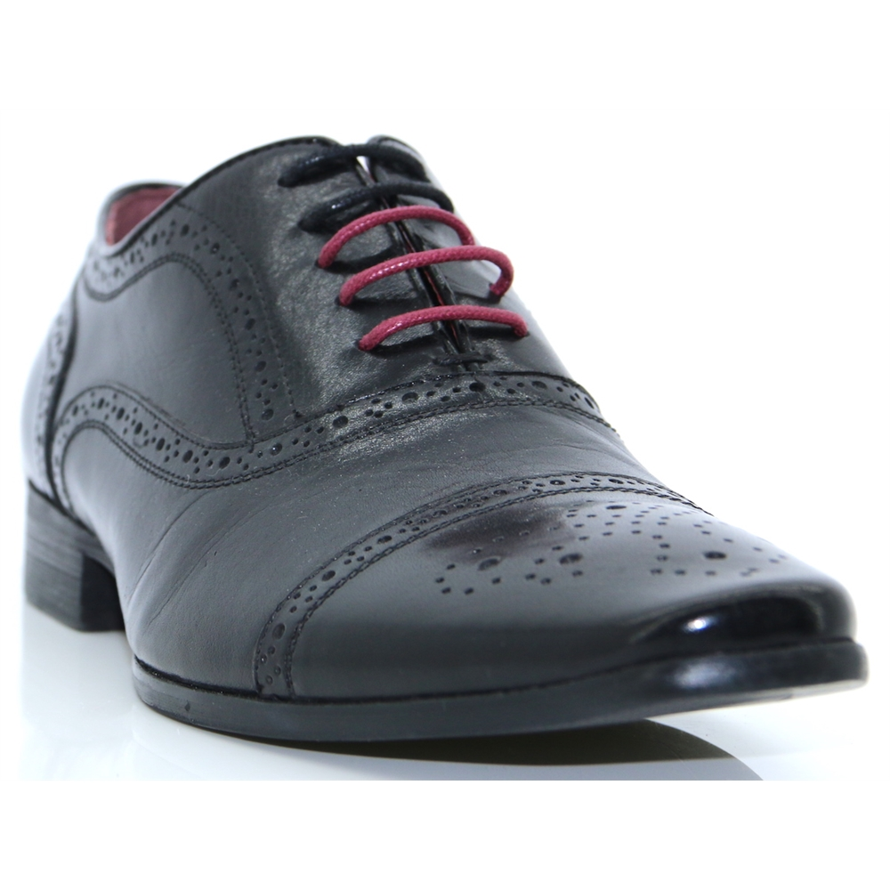 Bostonic - ESCAPE BLACK BROGUES