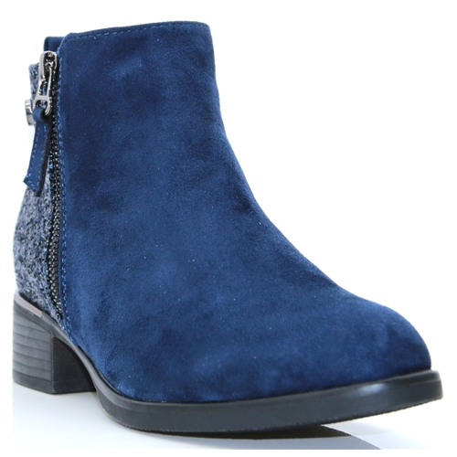 Baltow One - ZANNI AND CO COBALT ANKLE BOOTS
