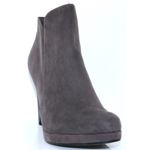 25316-21 - TAMARIS GREY SUEDE ANKLE BOOTS