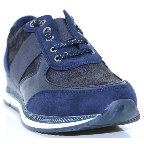 23711-31 - MARCO TOZZI NAVY COMB TRAINERS