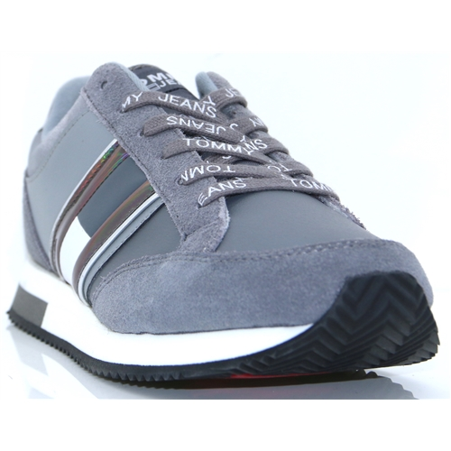 Casual Retro Sneaker - Tommy Hilfiger GREY TRAINERS