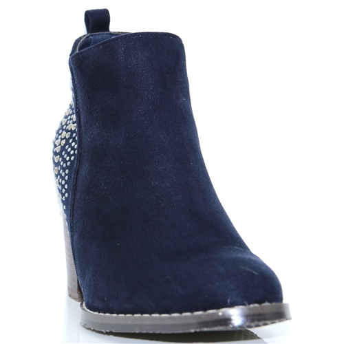 48534 - XTI NAVY ANKLE BOOTS