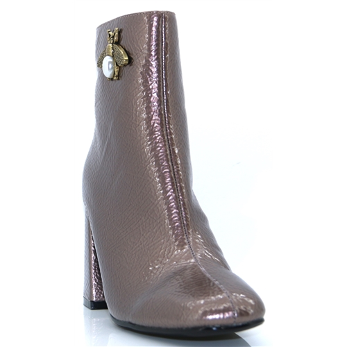 Bryan - MILLIE & CO PEWTER ANKLE BOOTS