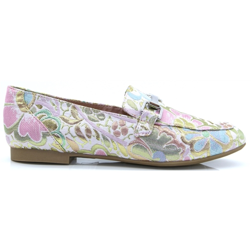 24220-32 - MARCO TOZZI ROSE MULTI LOAFERS