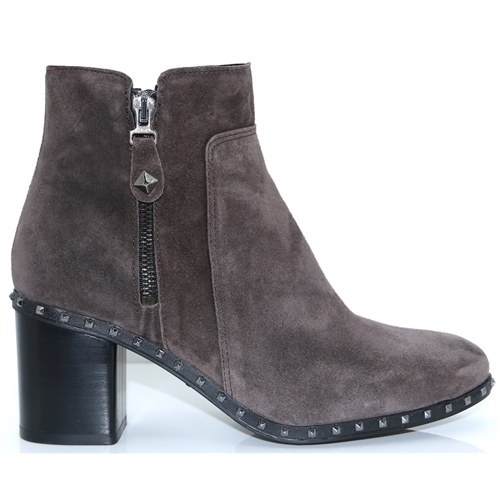 4347 - ALPE GREY SUEDE ANKLE BOOTS