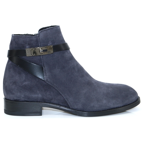 4316 - ALPE GREY SUEDE ANKLE BOOTS