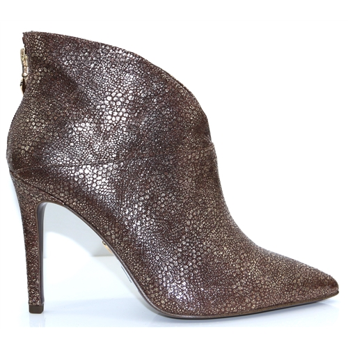 25308-23 - TAMARIS GOLD ANKLE BOOTS