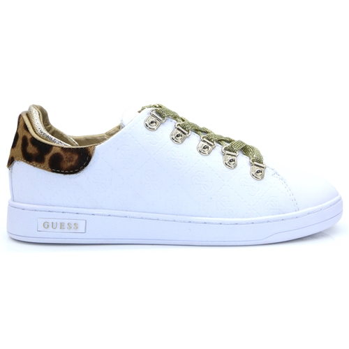 FL8CHZ FAL12 - GUESS WHITE TRAINERS
