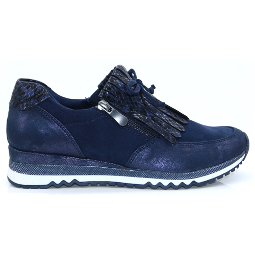 24702-34 - Marco Tozzi Navy Trainers