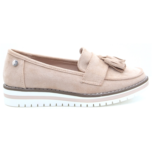 49933 - Xti Nude Loafers
