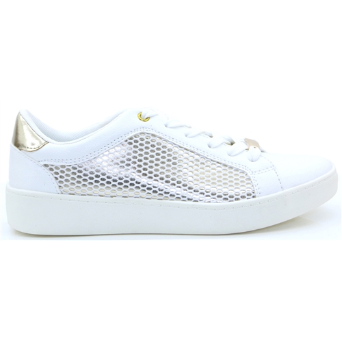 499040 - Sprox White and Gold Trainers