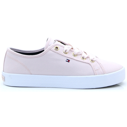 Ess.Nautical Sneaker - Tommy Hilfiger Pale Pink Trainers