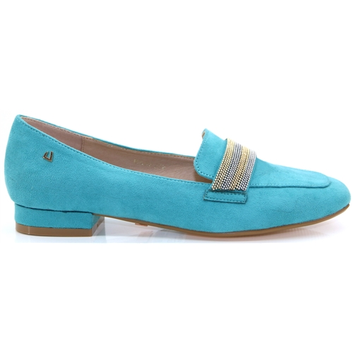 Wheels - Una Healy Turquoise Slip On Shoes