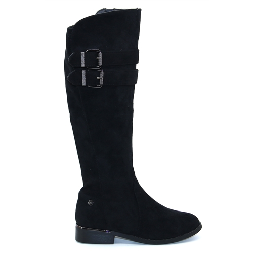 44732 - Xti Black Knee High Boots