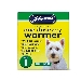 Johnsons Small Dog One Dose Easy Wormer
