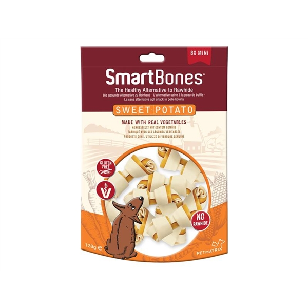 Smart Bones Mini Sweet Potato 8 Pack