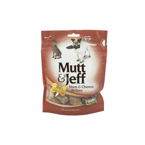 Mutt & Jeff Ham and Cheese Bribes 150g